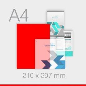 ulotki A4 - 210 x 297 mm