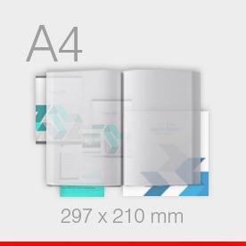 A4 - 210 x 297 mm
