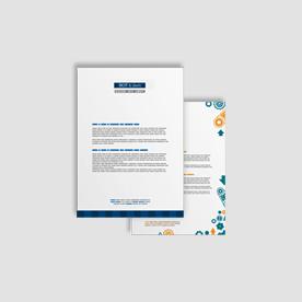 papier firmowy A4 / druk pełnokolorowy jednostronny 4+0, na papierze offset / preprint 90 g - 1 000 sztuk NAJNIŻSZA CENA W WARSZAWIE / WYSYŁKA GRATIS