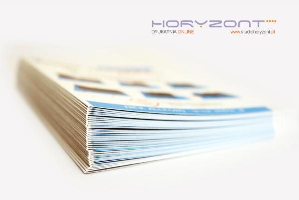 ulotka A4, druk pełnokolorowy obustronny 4+4, na papierze kredowym, 130 g, 250 sztuk  ! NAJNIŻSZA CENA W WARSZAWIE / WYSYŁKA GRATIS