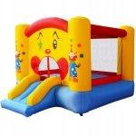 Dmuchany zamek trampolina ze zjeżdżalnią