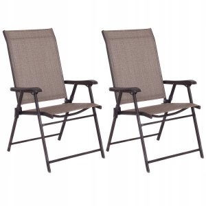 Krzesła ogrodowe zestaw 2 szt.