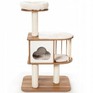Drapak dla kota 3-poziomowa wieża 117 cm