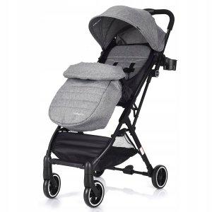 Składany wózek dziecięcy spacerówka z osłoną na nogi