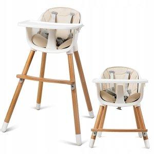 Krzesło do karmienia ze stolikiem