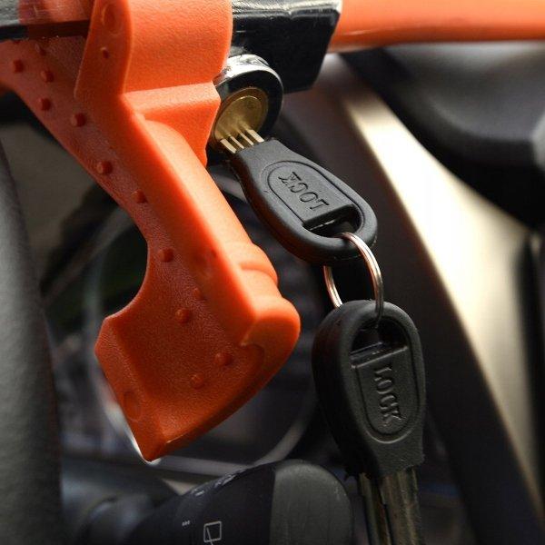 Blokada samochodowa antykradzieżowa na kierownice
