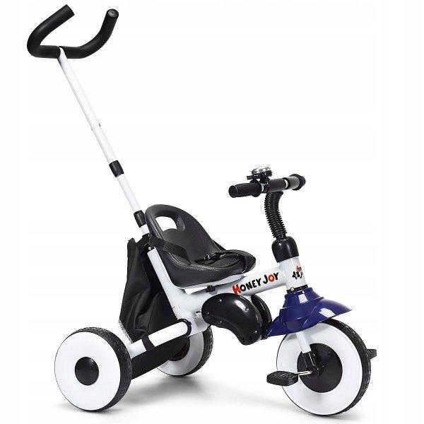 3-kołowy rowerek wózek dla dzieci
