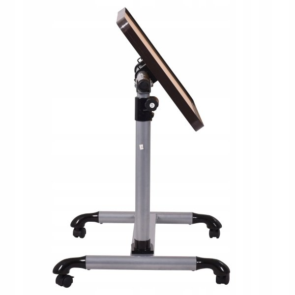 Regulowane biurko stolik pod laptopa na kółkach