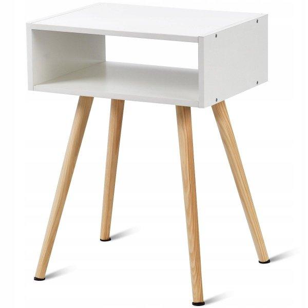 Szafka nocna stolik boczny w stylu skandynawskim