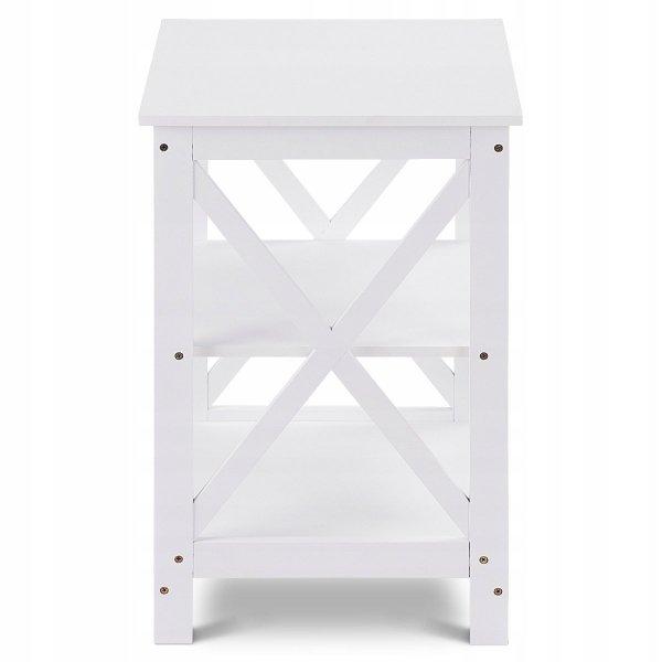 Stolik boczny szafka nocna z 3 półkami