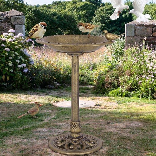 Poidło dla ptaków karmnik ogrodowy