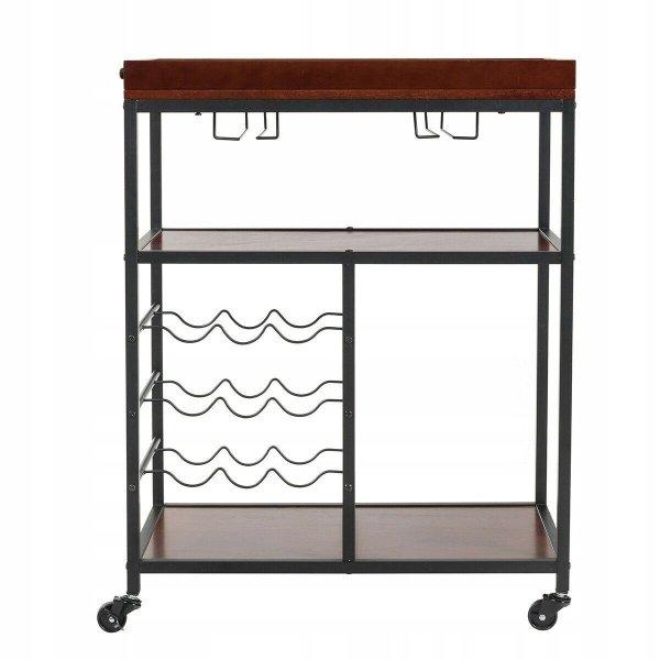 Wózek kuchenny barowy na kółkach