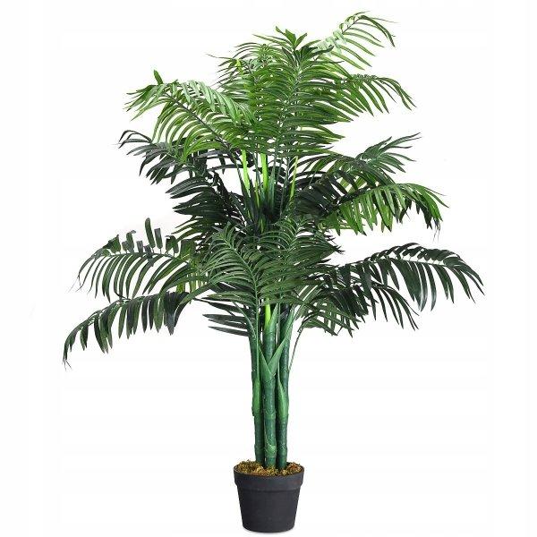 Sztuczna roślina ozdobna palma w doniczce 110cm