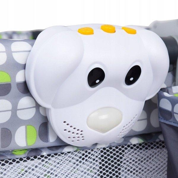 Łóżeczko turystyczne kojec dla dzieci z przewijakiem