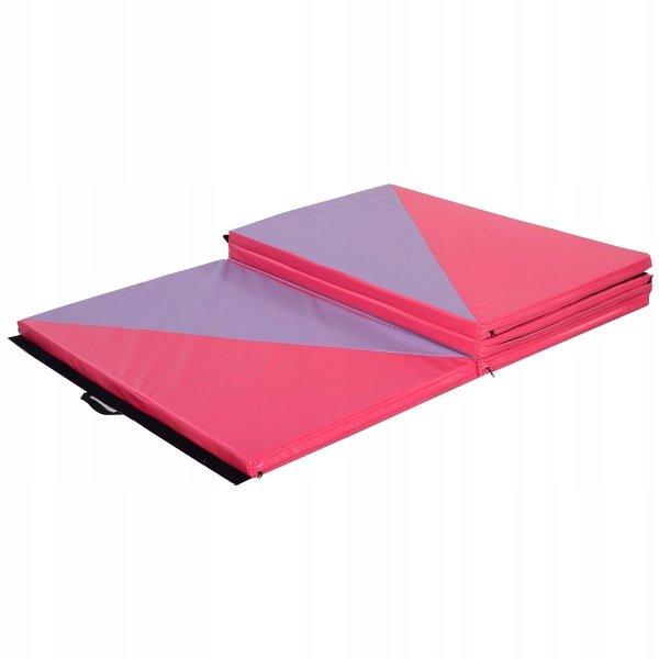 Mata gimnastyczna do ćwiczeń materac składany 300cm