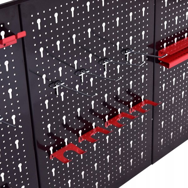 Metalowa tablica organizer na narzędzia