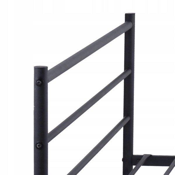 Metalowa rama stelaż łóżka 207x142 cm