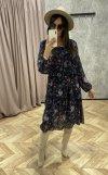 Oversize'owa sukienka midi