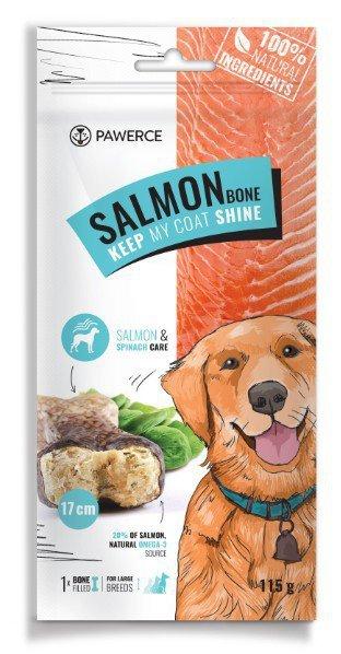 Pawerce Salmon Bone Large Breeds 1szt/op 115g