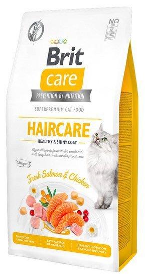Brit Care Cat Grain Free Haircare Healthy & Shiny Coat 400g