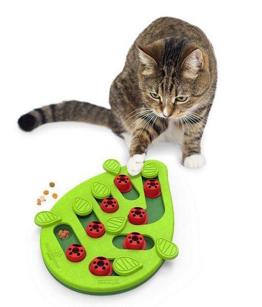 Nina Ottosson Cat Buggin' Out Puzzle & Play - gra edukacyjna dla kotów