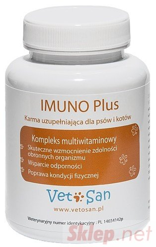 Vetosan Imuno Plus 60 tabletek