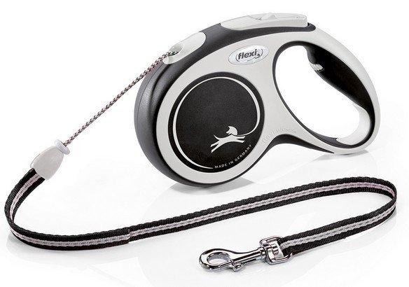 Flexi New Comfort Smycz linka M 5m czarna [FL-2946]