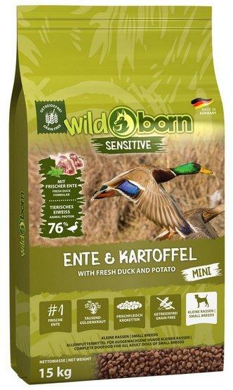 Wildborn Sensitive Ente & Kartoffel Adult Mini 15kg