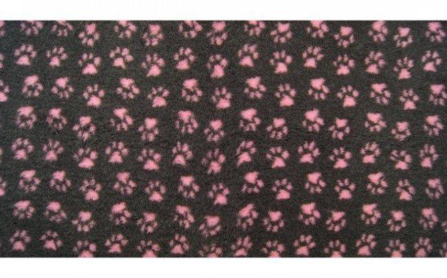 DryBed Posłanie 100x75cm A GF - grafit-róż