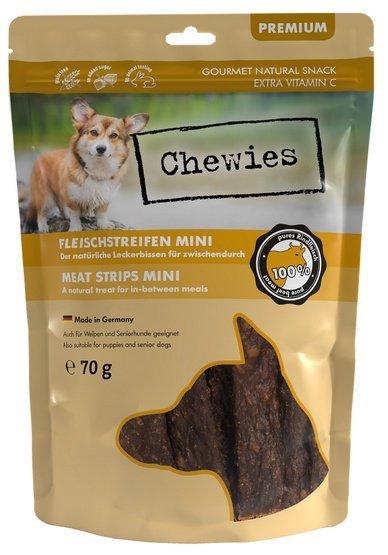 Chewies Mini Meat Strips Wołowina 70g