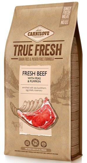 Carnilove Dog True Fresh Beef Adult - wołowina 4kg