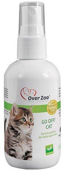 Over Zoo Go Off! Cat odstraszacz dla kotów 125ml