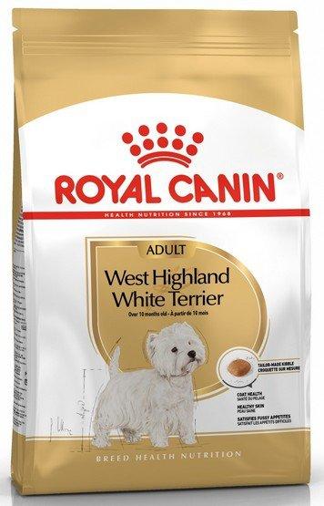 Royal Canin West Highland White Terrier Adult karma sucha dla psów dorosłych rasy west highland white terrier 1,5kg