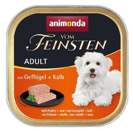 Animonda vom Feinsten Dog Adult Drób i Cielęcina 150g