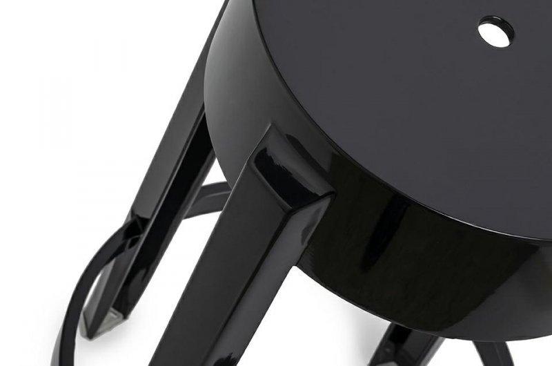 Hoker CHARLES 65 czarny - poliwęglan