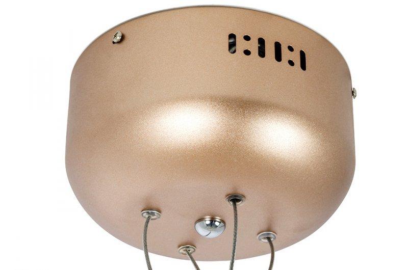 Lampa wisząca FLORA 100 miedziana - LED, metal