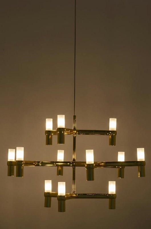 Lampa wisząca ATOMIC złota