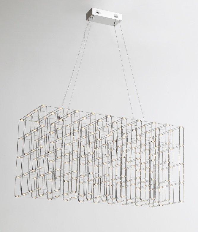 Lampa wisząca CONSTELLAR - LED, stal szczotkowana