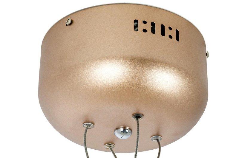 Lampa wisząca FLORA 160 miedziana - LED, metal