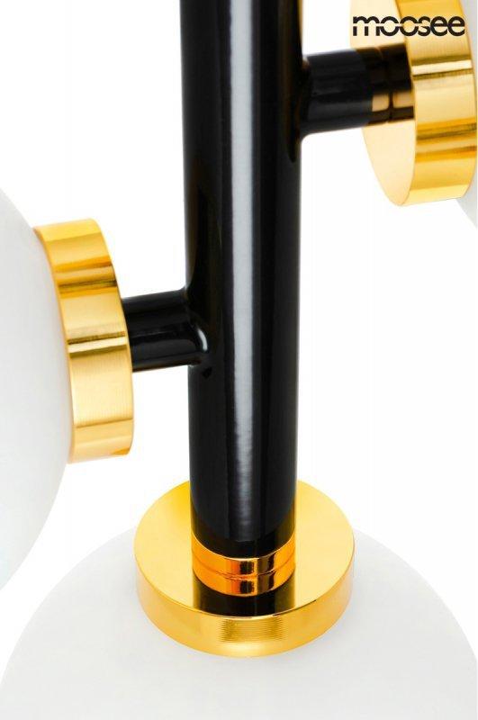 MOOSEE lampa wisząca COSMO VERTICAL S - czarna, złota