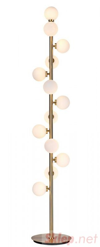 MOOSEE lampa podłogowa COSMO FLOOR GOLD - złota