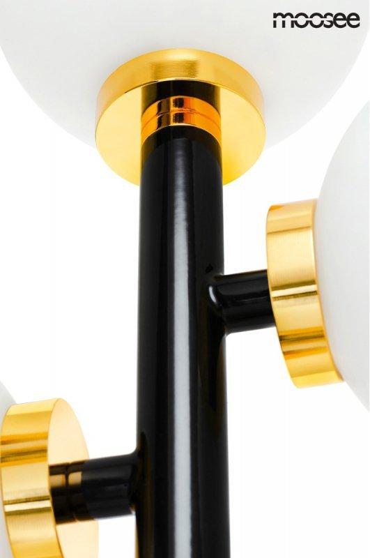 MOOSEE lampa podłogowa COSMO FLOOR BLACK - czarna, zlota