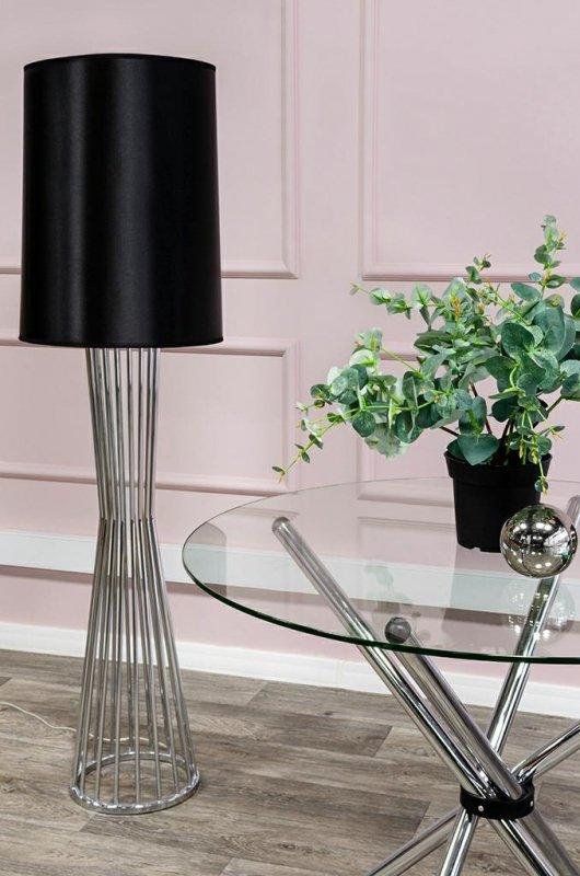 Stół CONEX blat szklany - szkło hartowane, metal