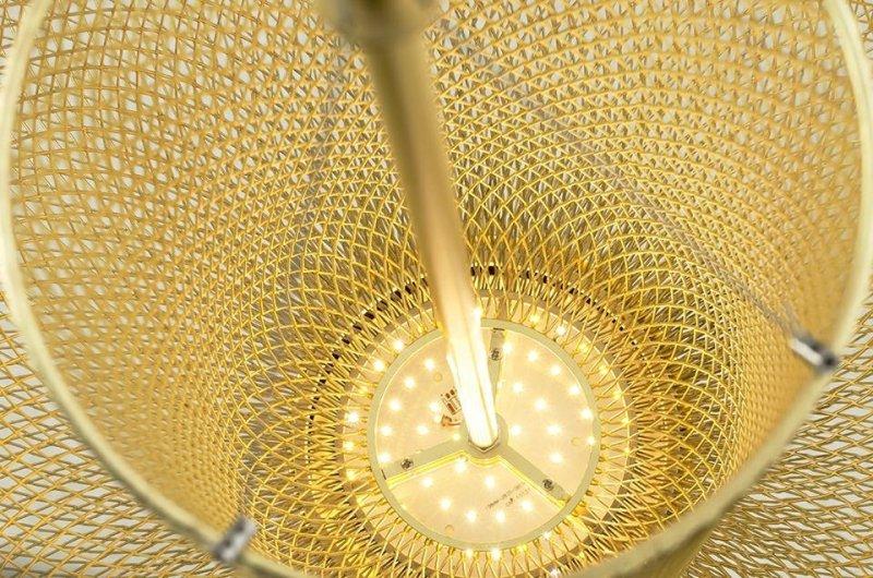 Lampa wisząca ILLUSION S 45 złota - LED, metal