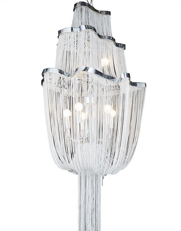 Lampa wisząca ATLANTA - aluminium, stal