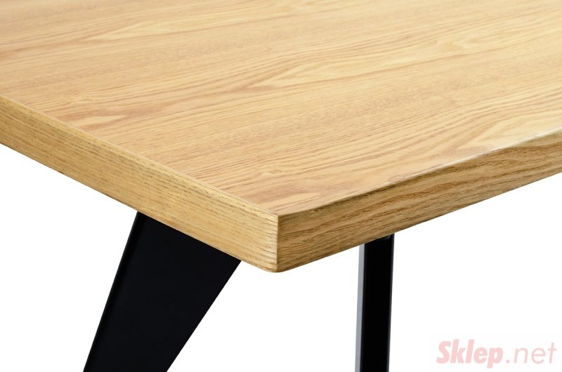 Stół JOSEF natural - drewno, metal