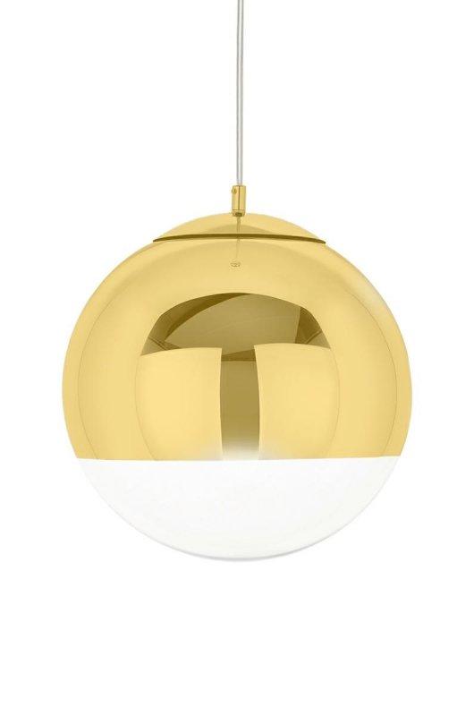 Lampa wisząca REFLEX UP 30 złota - szkło