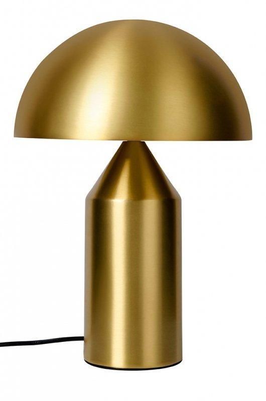 Lampa biurkowa FUNGO złota - mosiądz