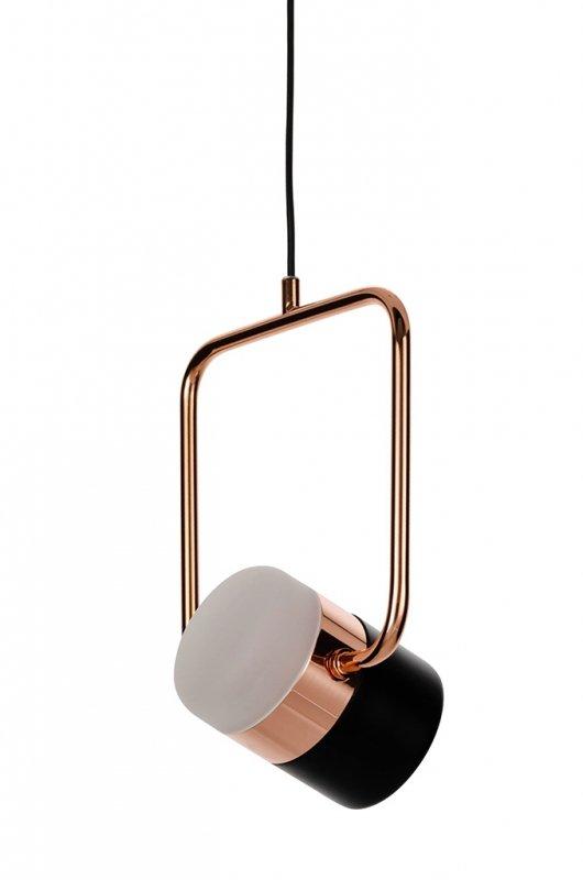 Lampa wisząca BLINK 1 czarna - LED, metal