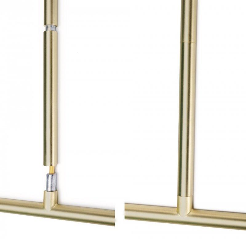 Lampa wisząca LORO 5 złota - LED